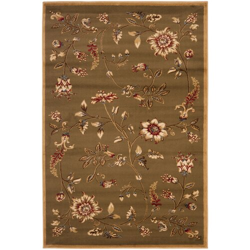 Safavieh Lyndhurst Brown/Multi Rug