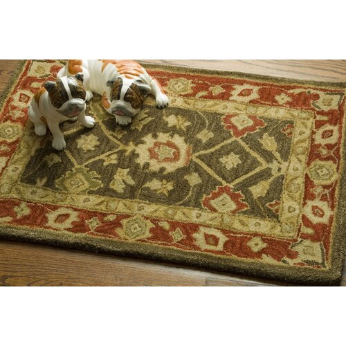 Safavieh Persian Legend Light Green/Rust Rug