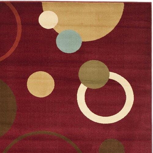 Safavieh Porcello Red/Multi Rug