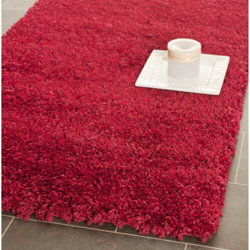 Safavieh California Shag Red Rug