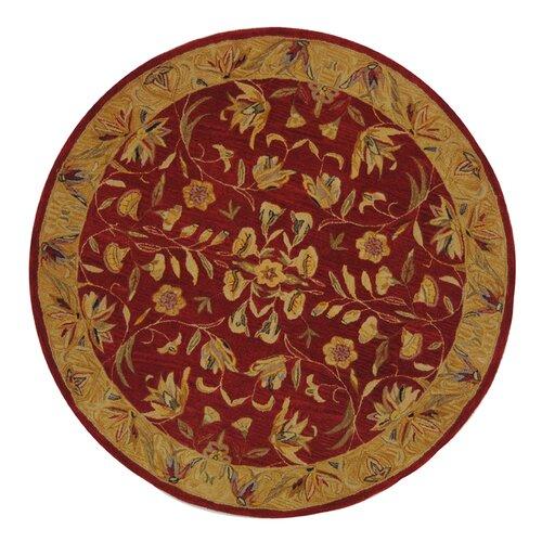 Safavieh Anatolia Burgundy / Gold Rug