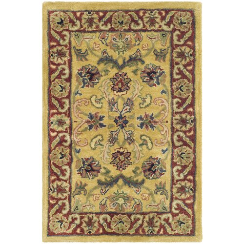 Safavieh Classic Gold/Red Sultan Rug