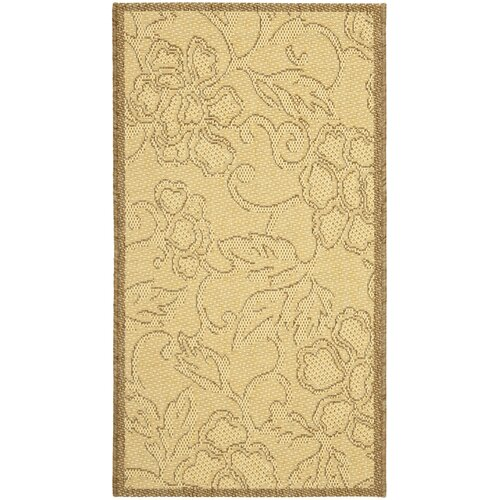 Courtyard All Over Dark Tan Outdoor Rug