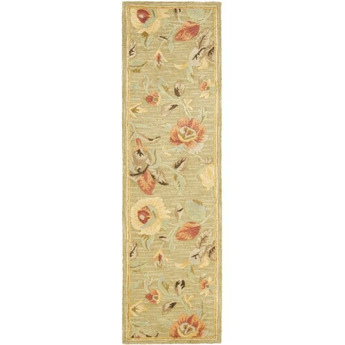 Blossom Green / Multi Contemporary Rug