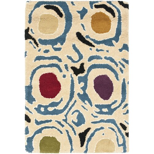 Soho Light Ivory / Light Multi Contemporary Rug