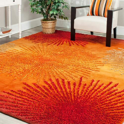 Safavieh Soho Rust Orange Area Rug Amp Reviews Wayfair