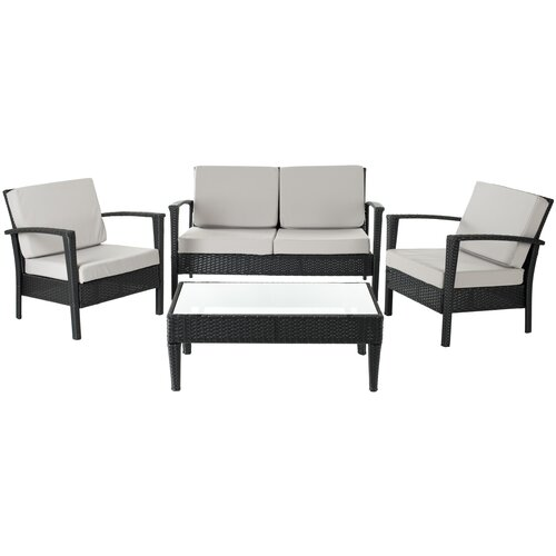 upholstered commercial outdoor furniture wayfair