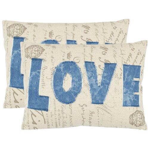 Mallory Cotton Decorative Pillow (Set of 2)