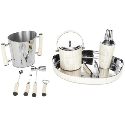 Safavieh Bone 9 Piece Bartender Set