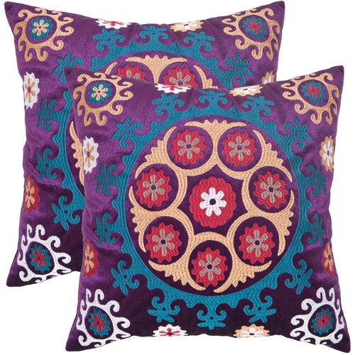 Safavieh Vanessa Linen / Cotton Decorative Pillow