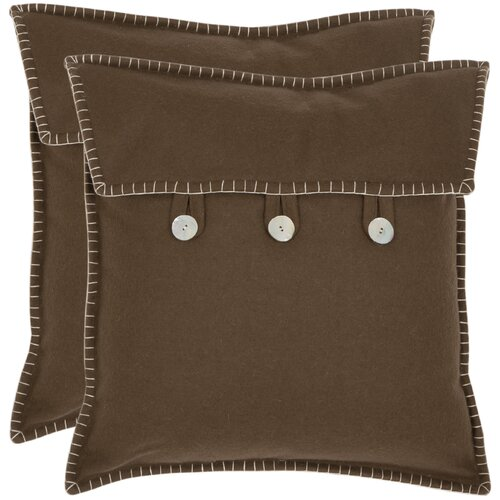 Scudder Wool / Polyester Decorative Pillow (Set of 2)