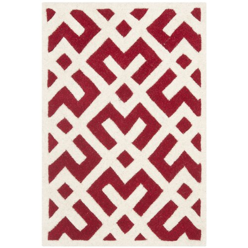 Safavieh Chatham Red / Ivory Rug