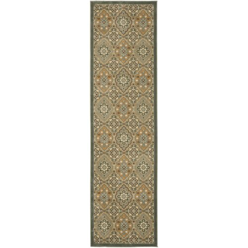 Treasures Blue/Gold Rug