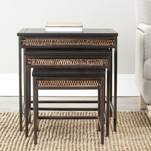 Safavieh Kadin 3 Piece Nesting Tables