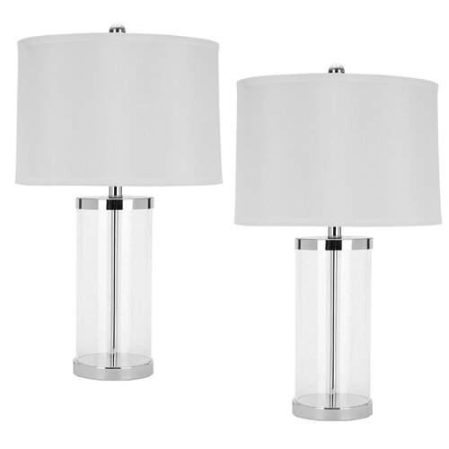 Safavieh Melody Clear Glass Table Lamp