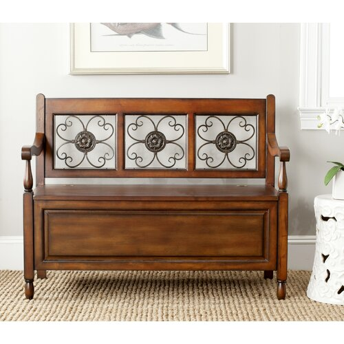 Safavieh Erica Wood Storage Entryway Bench & Reviews | Wayfair