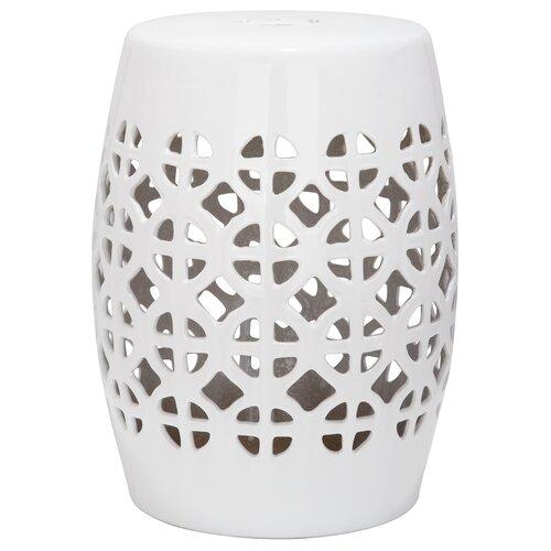 safavieh circle lattice garden stool reviews wayfair