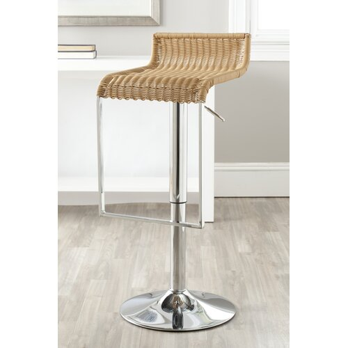 Zandrea Adjustable Swivel Bar Stool