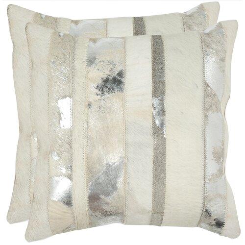 Peyton Feather / Down Decorative Pillow (Set of 2)