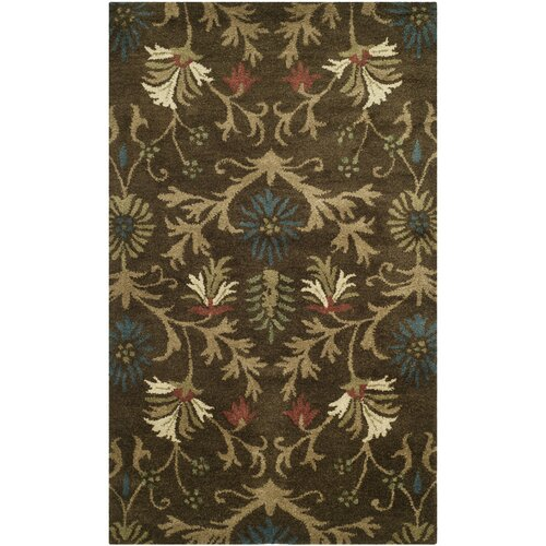 Botanica Brown / Multi Floral Rug
