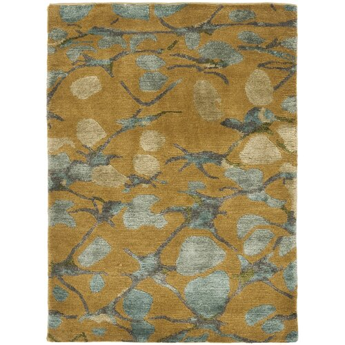 Martha Stewart Abstract Trellis Husk Brown Rug