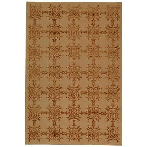 Martha Stewart Tracery Rose / Wood Rug