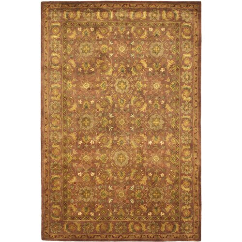 Safavieh Antiquity Copper / Gold Outdoor Rug