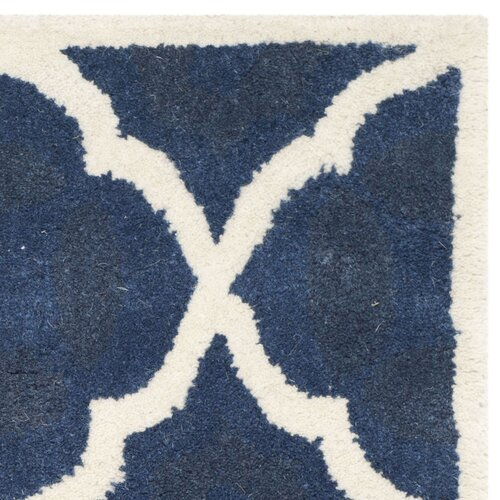 Safavieh Chatham Blue / Ivory Moroccan Rug