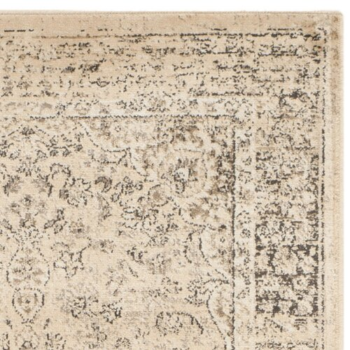 Safavieh vintage warm beige area rug reviews wayfair for Warm rugs