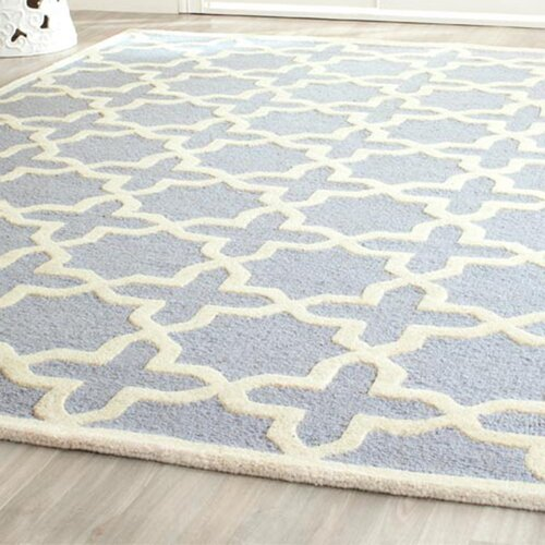 Safavieh Cambridge Light Blue / Ivory Rug