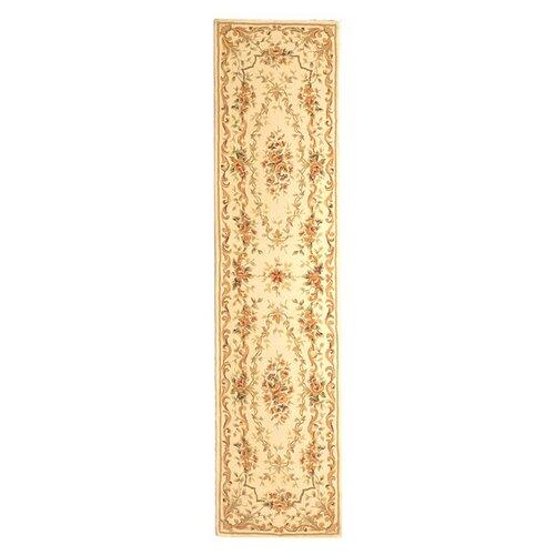 French Tapis Ivory/Ivory Rug