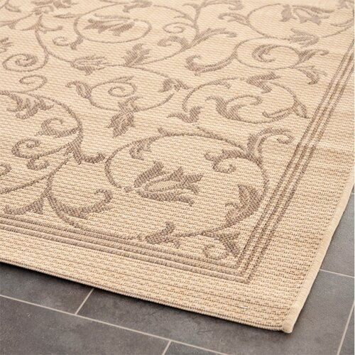 Safavieh Courtyard All Over Vine Outdoor Rug