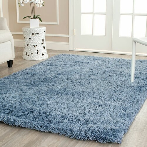 Safavieh Shag Light Blue Area Rug amp; Reviews  Wayfair
