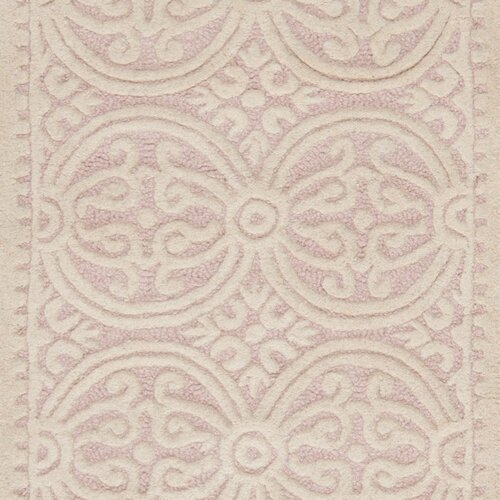 Safavieh Cambridge Light Pink/Ivory Rug