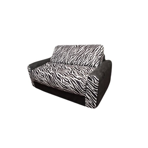 Fun Furnishings Micro and Zebra Kid's Sleeper Sofa