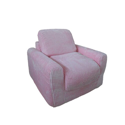 Fun Furnishings Chenille Kid's Chair Sleeper