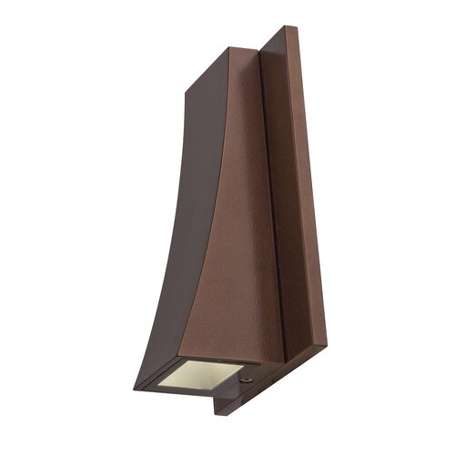 Outdoor Wall Sconce Led Light : Archer 1 Light Outdoor LED Wall Sconce Wayfair