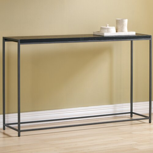 Tfg wabash tall console table reviews wayfair for Tall console table