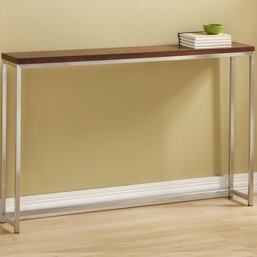 Tfg ogden tall console table reviews wayfair for Tall console table