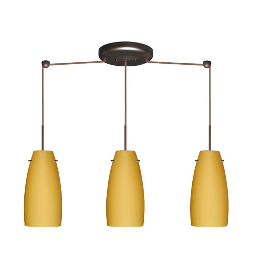 Besa Lighting Tao 3 Light Pendant