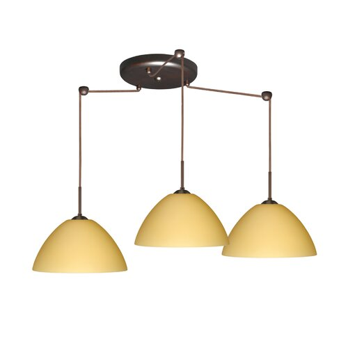 Besa Lighting Tessa 3 Light Pendant