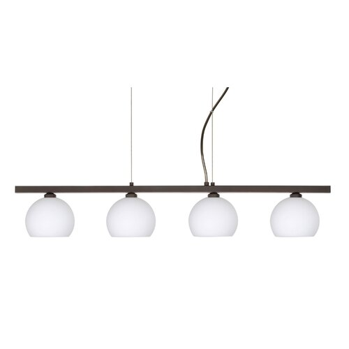 Palla 4 Light Linear Pendant