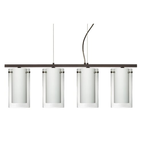 Pahu 4 Light Kitchen Island Pendant