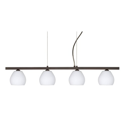 Besa Lighting Tay Tay 4 Light Linear Pendant