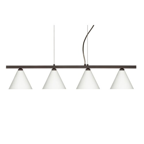 Kani 4 Light Cable Hung Linear Pendant