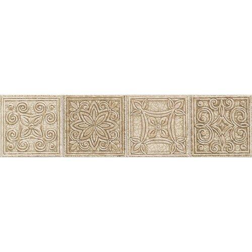 "Mohawk Flooring Natural Bella Rocca 12"" x 3"" Universal Decorative Border"