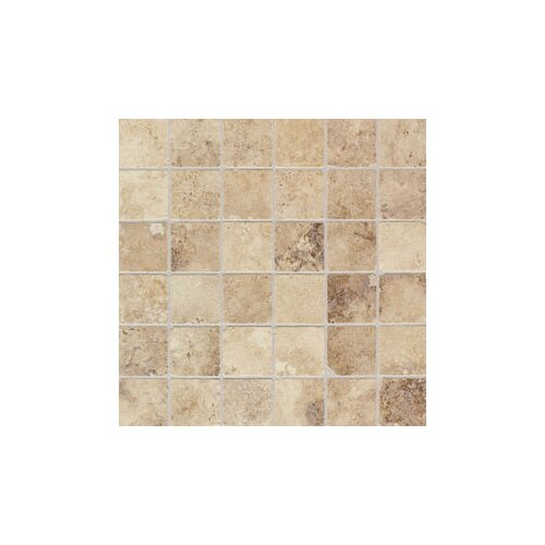 """Mohawk Flooring Natural 2"""" x 2"""" Monticino Mosaic Tile in Blend"""