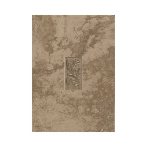 "Mohawk Flooring Natural Pavin Stone 14"" x 10"" Decorative Accent Wall Tile in Brown Suede"