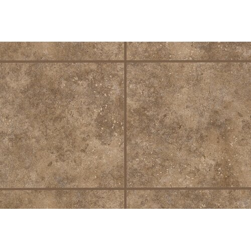 "Mohawk Flooring Bella Rocca 3"" x 3"" Bullnose Corner Tile Trim in Tuscan Brown"