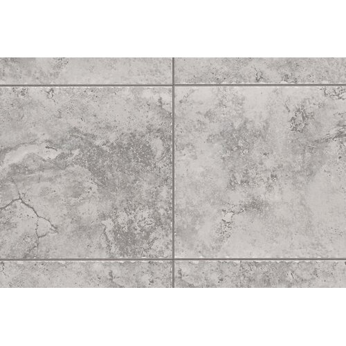 "Mohawk Flooring Natural Bucaro 1"" x 1"" Quarter Round Corner Tile Trim in Grigio/Blu"